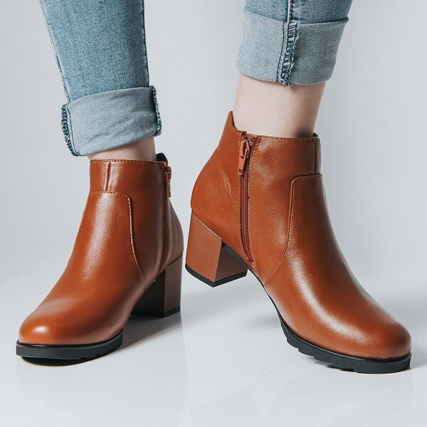 Giày boots nữĐông Hải