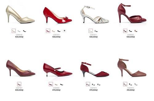 giày cao gót gót nhọn juno