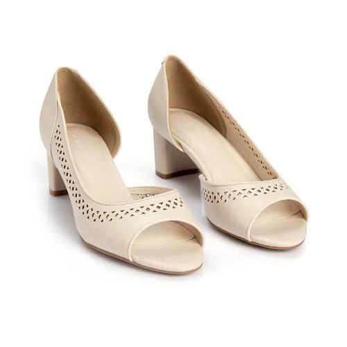 10+ Giày Cao Gót Hở Mũi & Đế Vuông Cho Nữ Đẹp Nhất Hiện Nay 2