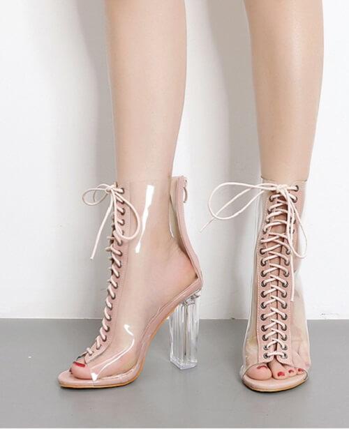 10+ Giày Cao Gót Hở Mũi & Đế Vuông Cho Nữ Đẹp Nhất Hiện Nay 3