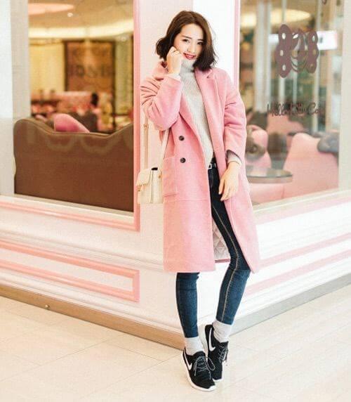 Cách phối giày với tất cho nữ siêu dễ thương 6