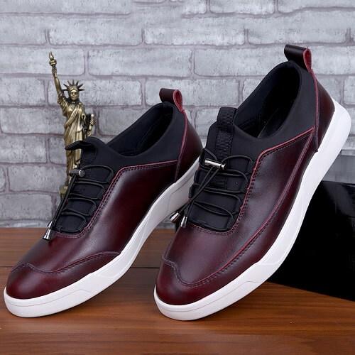 Giày da thể thao