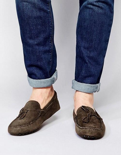 Giày lười Driver Shoes