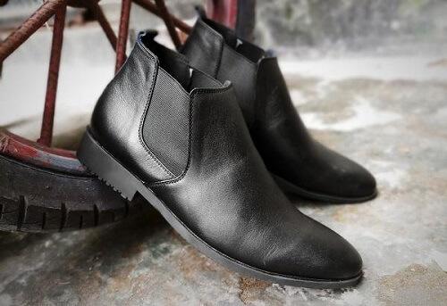 Giày Boots công sở nam cổ cao, cổ lửng