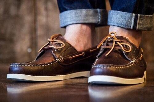 Giày công sở Boat Shoes nam (Giày thủy thủ)