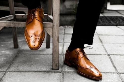 Giày công sở nam Brogues