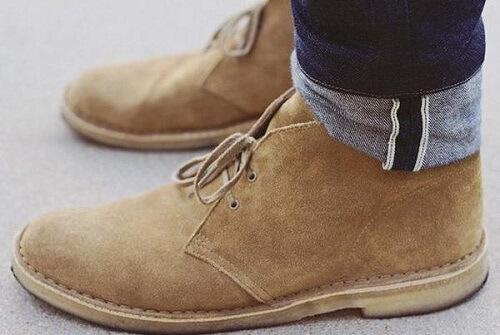 Giày da nam công sở Chukka Boots