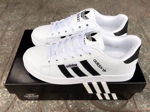 Giày nam Adidas Super Star trắng