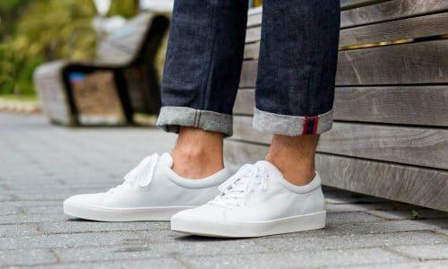 11 Mẫu giày trắng nam đẹp nhất 1