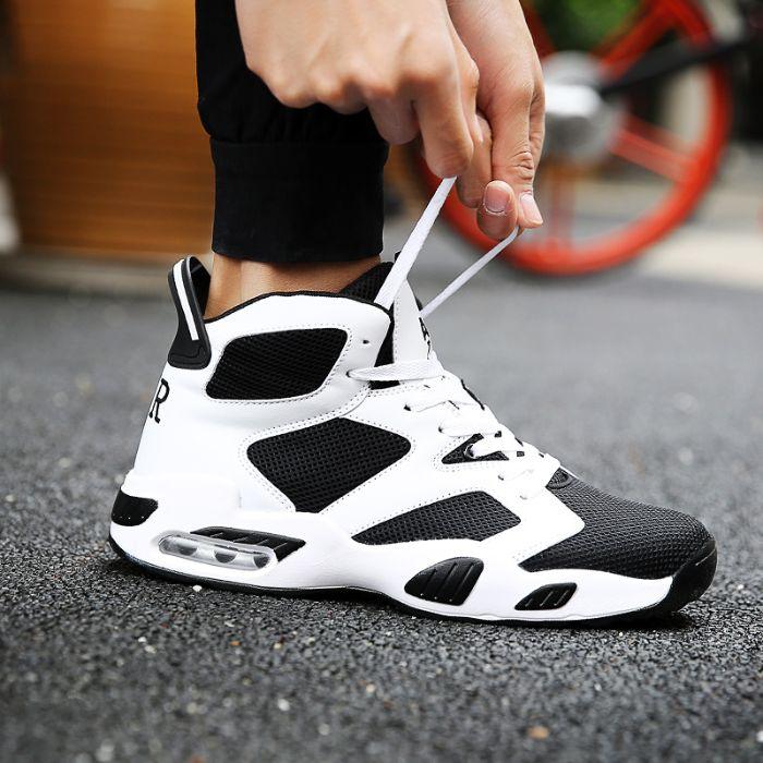 Thắt dây giày bóng rổ số chẵn