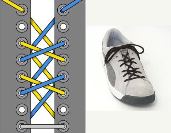 Những cách buộc dây giày sneaker độc đáo cực dễ làm 1
