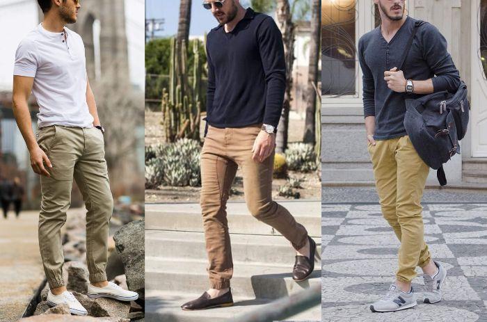 Cách phối đồ với giày thể thao nam