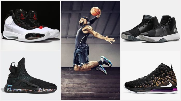 những đôi giày bóng rổ đẹp nhất