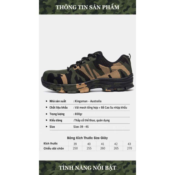 Giày bảo hộ Kingsman Army2