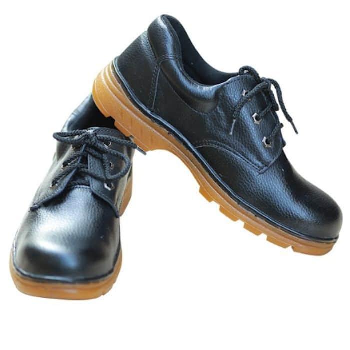 Giày bảo hộ ABC Suýt chỉ đen 1