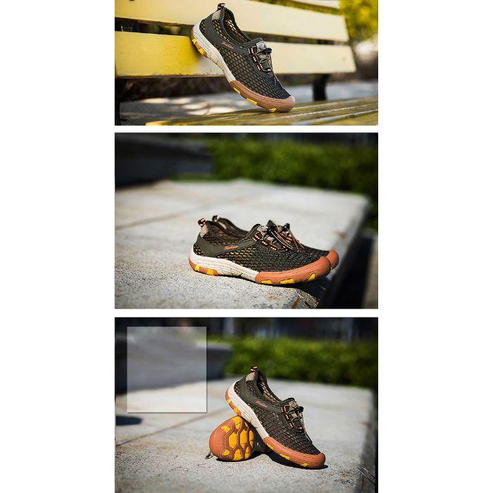 Giày leo núi nữ chống trơn trượt, bảo vệ chân hiệu quả0