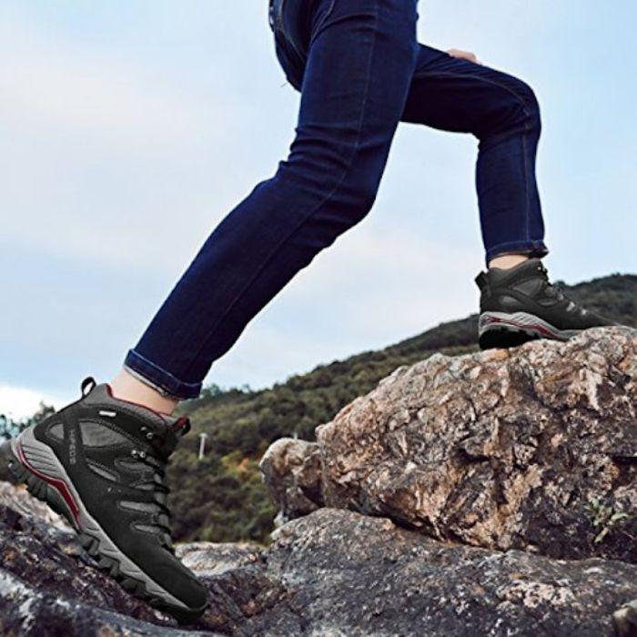 Giày leo núi nữ chống trơn trượt, bảo vệ chân hiệu quả 8