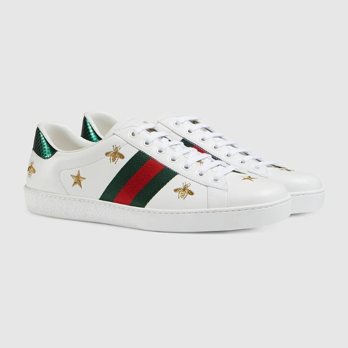 Giày Sneaker Gucci Ace Embroidered0