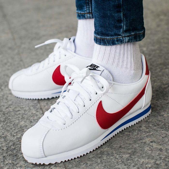 Giày sneaker Nike Classic Cortez nữ màu trắng0