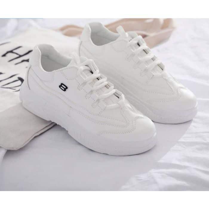 Giày sneaker nữ Passo màu trắng G2201