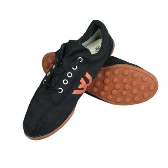 Giày Thượng Đình đá bóng đế đinh màu đen 2