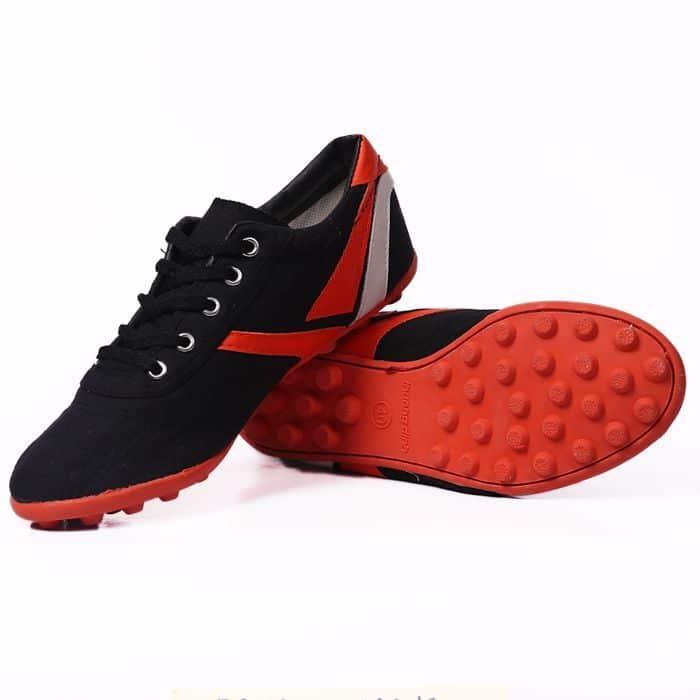 Giày Thượng Đình đá bóng đế đinh màu đen2
