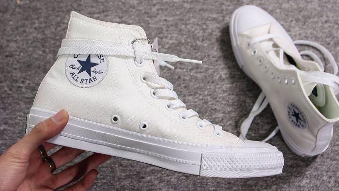 size giày Converse